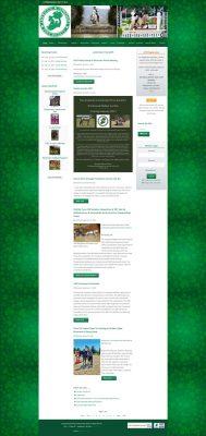 ACPS Joomla website before WordPress conversion.